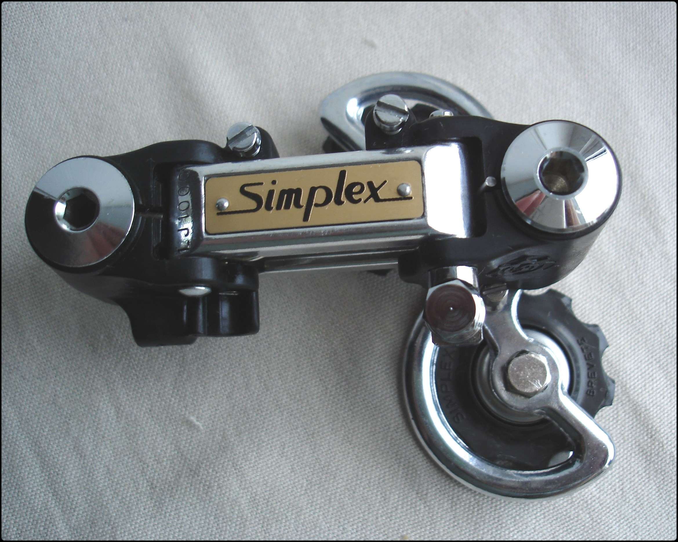 Simplex Lj 1000 Rear Derailleur Installation Peugeot Course Pb 12 Diagram Once The Retrofriction Levers Were Installed Next Logical Steps To Add Front And Derailleurs Back Onto Frameset